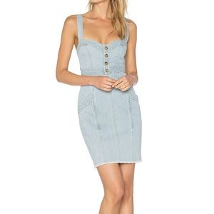 NWT Denim mini dress by Nicholas